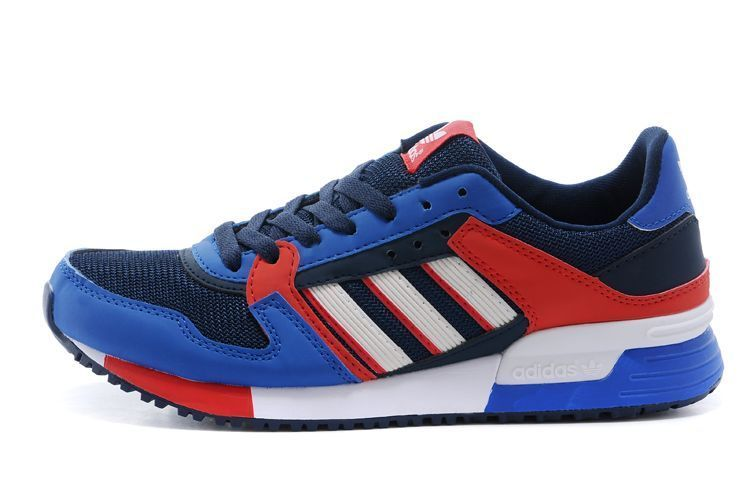 Men's/Women's Adidas Originals ZX 630 Shoes Bold Blue/Core Black/Bright Red M25139