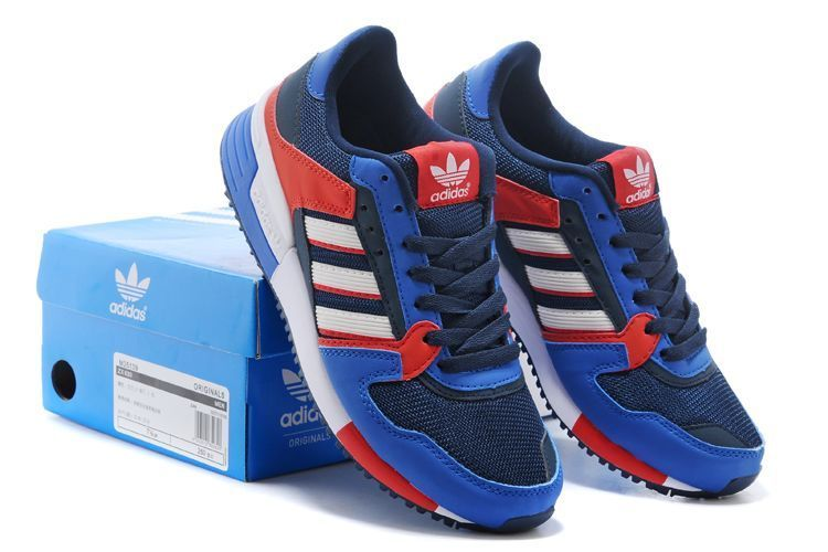 Men\'s/Women\'s Adidas Originals ZX 630 Shoes Bold Blue/Core Black/Bright Red M25139