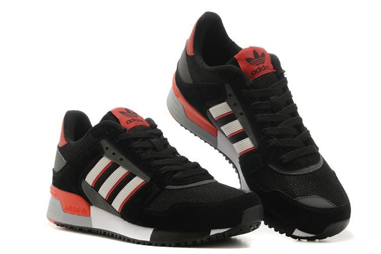 Men\'s/Women\'s Adidas Originals ZX 630 Shoes Core Black/Core White/Red M25550