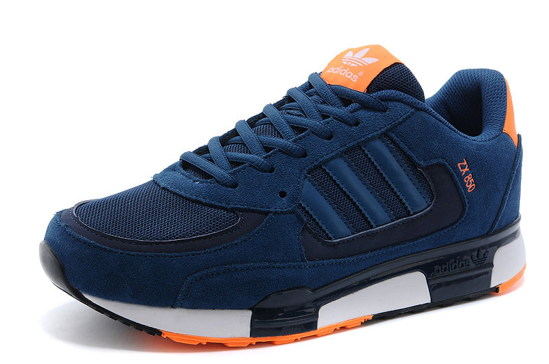 Men's/Women's Adidas Originals ZX 850 Shoes Tribal Blue/Tribal Blue/New Navy M22567