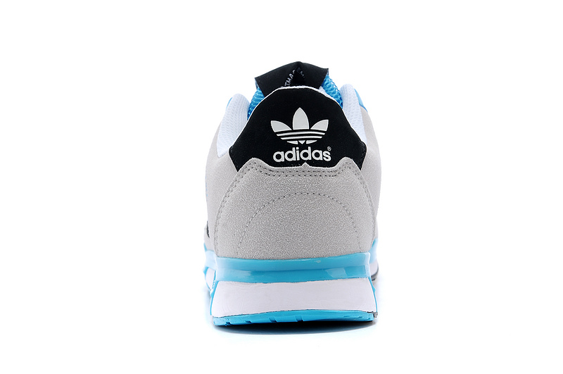 Men\'s/Women\'s Adidas Originals ZX 850 Shoes White/Samba Blue D65236