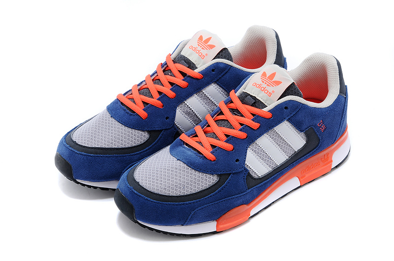 new style 8d651 782b1 ... Men  s Women  s Adidas Originals ZX 850 Shoes Iron Blue ...