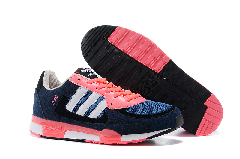 Men's/Women's Adidas Originals ZX 850 Shoes True Blue/Red Zest D65238