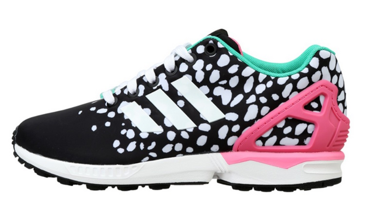 Women's adidas Originals ZX Flux Shoes Core Black M19455