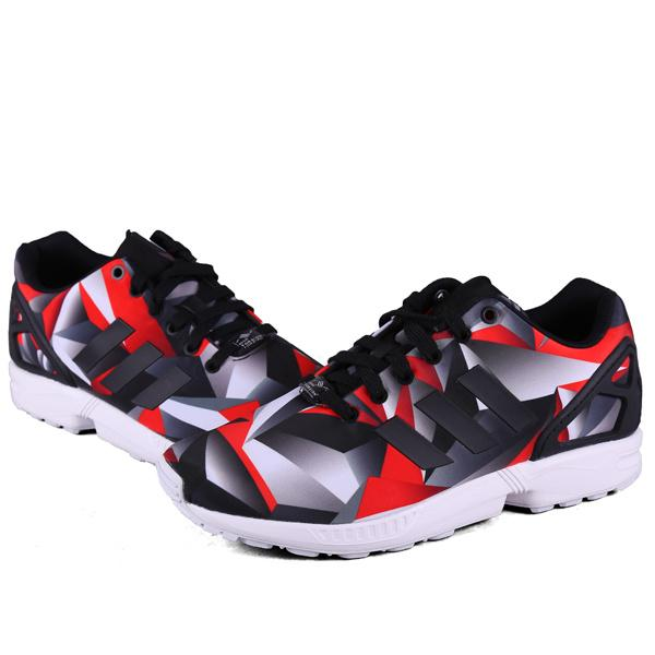 Men\'s/Women\'s adidas Originals ZX Flux Shoes Legend SOGR/Core Black/Ftw White S81650