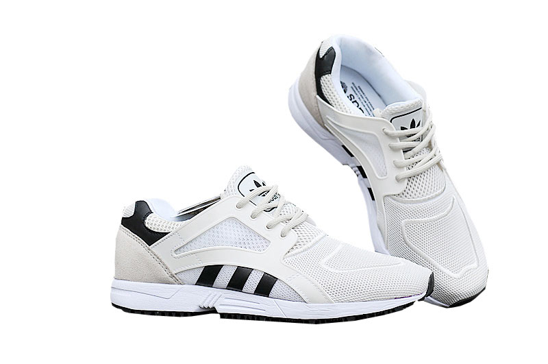 Men's/Women's adidas Originals ZX Flux Racer Lite Shoes White/Core Black/Core Black B35806