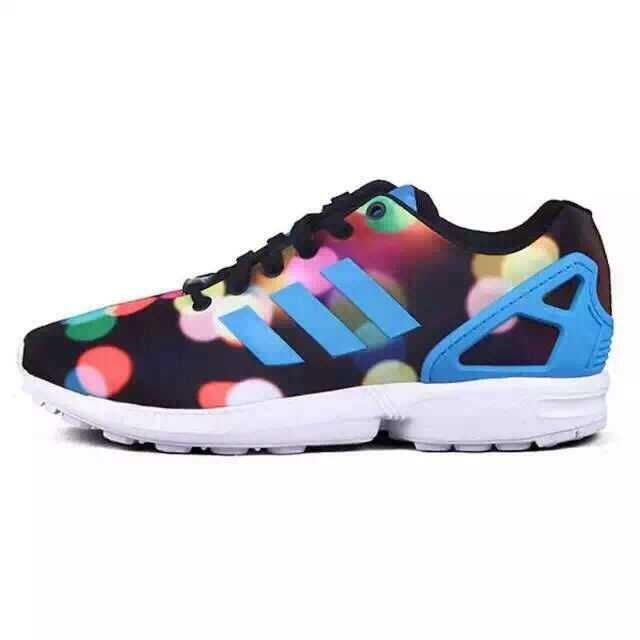Men's/Women's adidas Originals ZX Flux Shoes Core Black B23984
