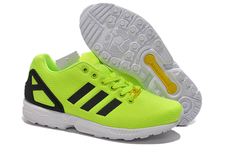 Men's/Women's adidas Originals ZX Flux Shoes Electric Volt M22508
