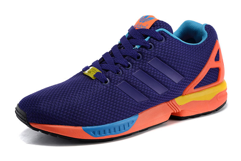 Men's adidas Originals ZX Flux Shoes Collegiate Purple B34491