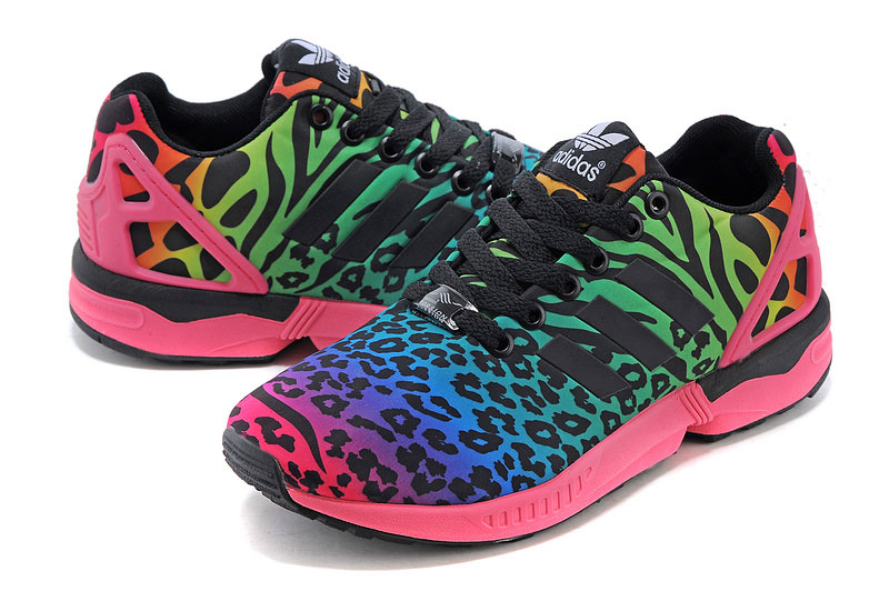 Men\'s adidas Originals ZX Flux Italia Independent Shoes Spink/Black/White B32740