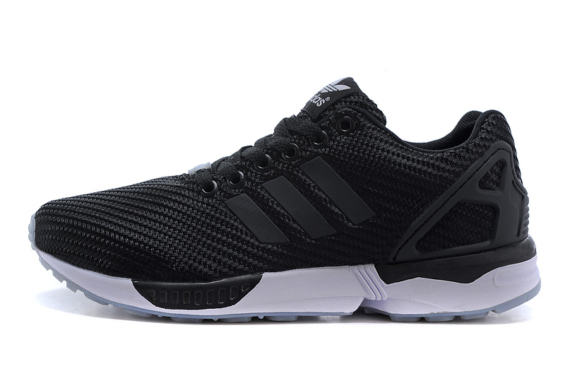 Men's adidas Originals ZX Flux Shoes Black/Grey M34909