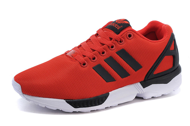 Men's adidas Originals ZX Flux Shoes University Red/Core Black