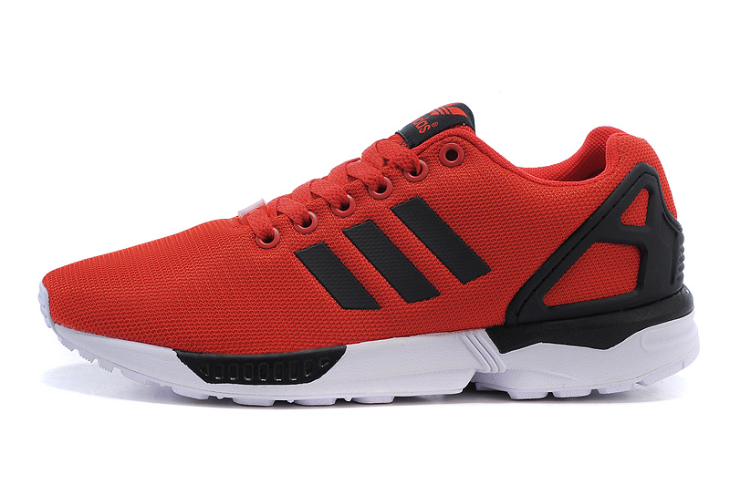 Men\'s adidas Originals ZX Flux Shoes University Red/Core Black