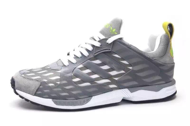 Men's Adidas Originals ZX 5000 RSPN Shoes Metallic Grey/Fluorescence