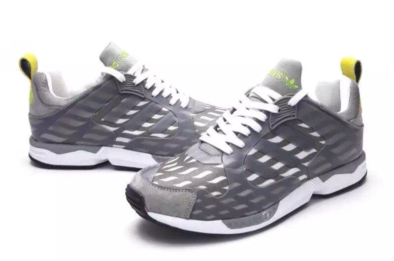 Men\'s Adidas Originals ZX 5000 RSPN Shoes Metallic Grey/Fluorescence