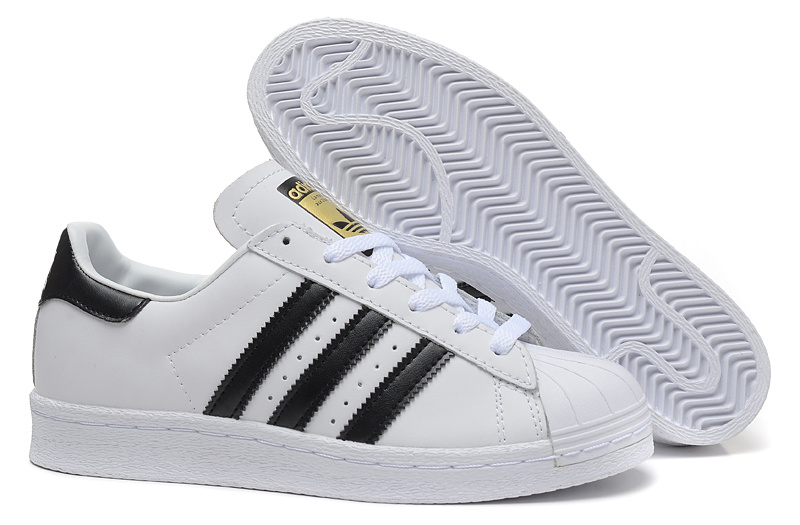 Men's/Women's Adidas Originals Superstar 80s Vintage Deluxe Shoes Vintage White/Core Black/Off White B25963