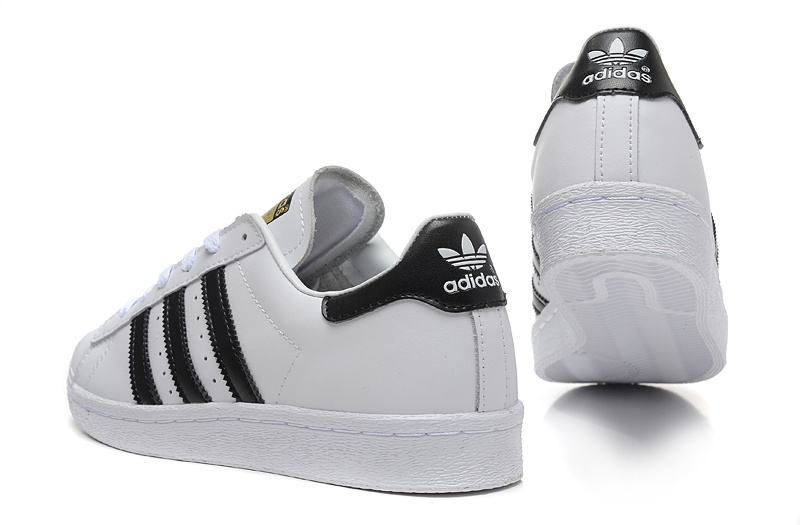 Men\'s/Women\'s Adidas Originals Superstar 80s Vintage Deluxe Shoes Vintage White/Core Black/Off White B25963