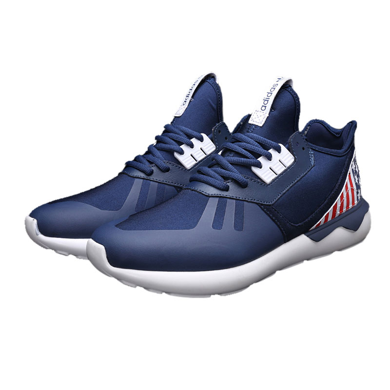 Men\'s/Women\'s Adidas Originals Tubular Running Shoes the Stars and the Stripes