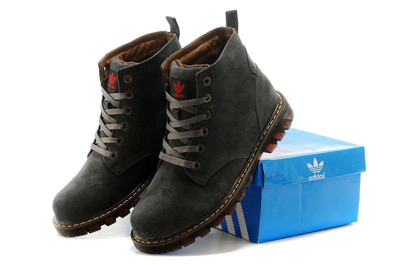 Men\'s Adidas Originals High Boots Grey