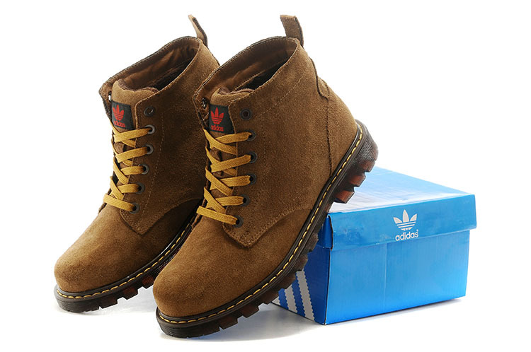 Men\'s Adidas Originals High Boots Khaki