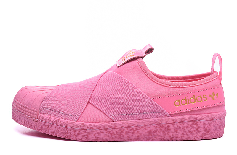 Women's Adidas Originals Superstar Slip On Trainer Peachpuff