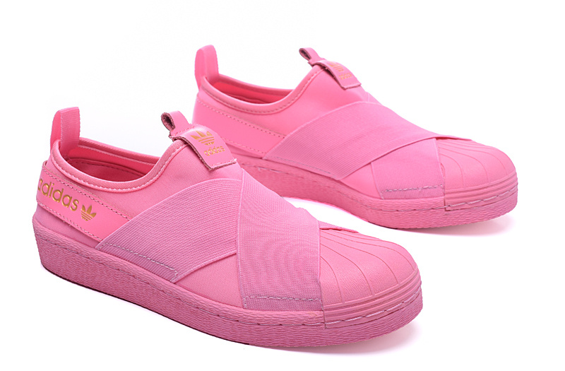Women\'s Adidas Originals Superstar Slip On Trainer Peachpuff