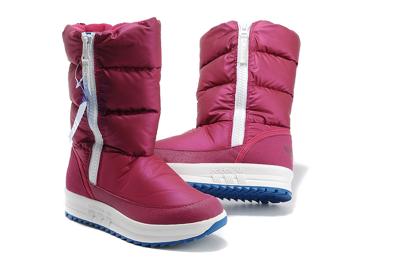 Women\'s Adidas Originals Sporty Snowparadise Boots Pink-Pink G60641
