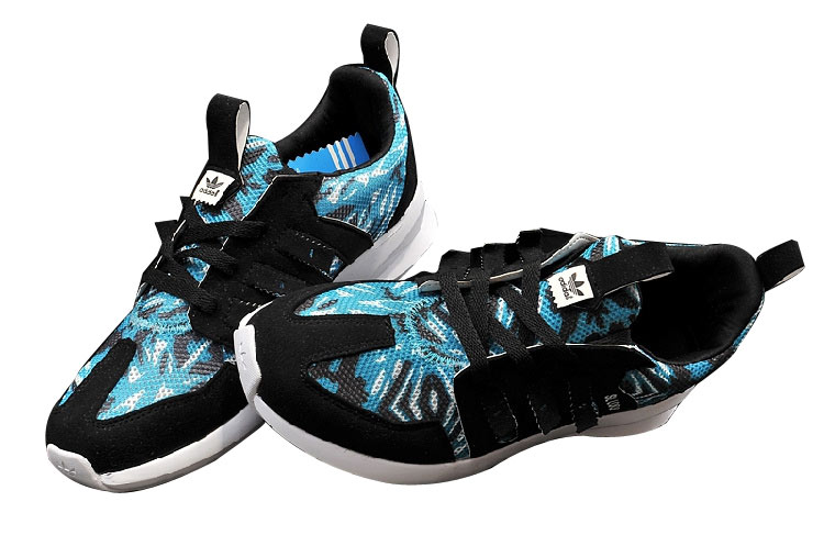 Men\'s/Women\'s Adidas Originals SL LOOP Shoes Black Blue White C75288