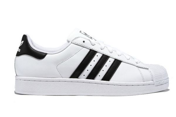 Men's/Women's Adidas Originals Superstar II Shoes Running White/Black G17068