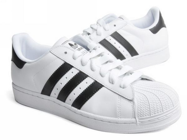 Men\'s/Women\'s Adidas Originals Superstar II Shoes Running White/Black G17068