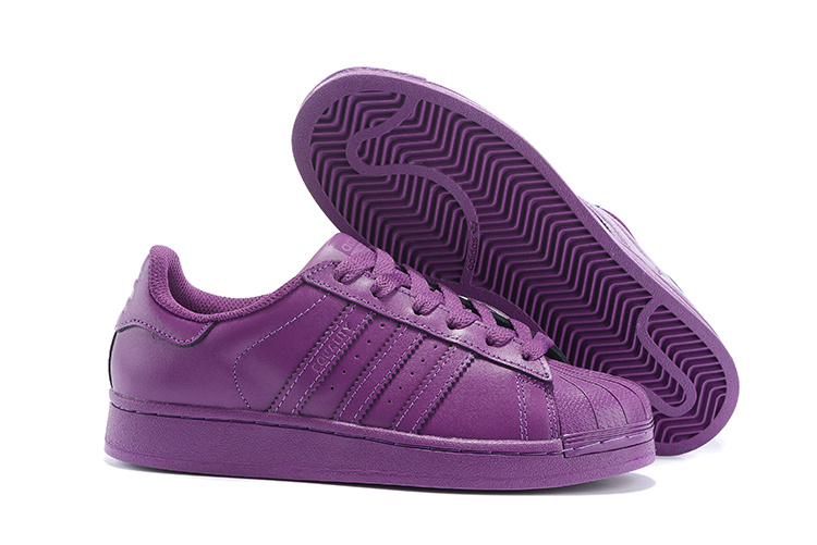 Women's Adidas Originals Superstar Supercolor PHARRELL WILLIAMS Shoes Lucky Pink S41806