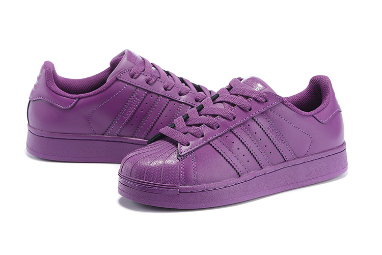Women\'s Adidas Originals Superstar Supercolor PHARRELL WILLIAMS Shoes Lucky Pink S41806