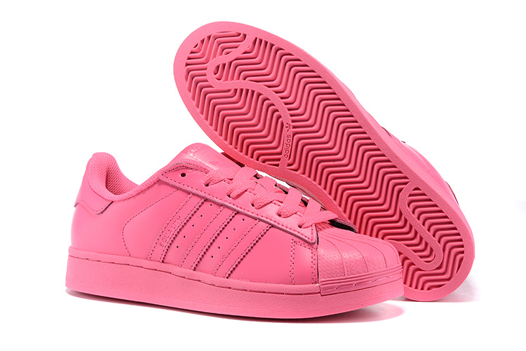 Women's Adidas Originals Superstar Supercolor PHARRELL WILLIAMS Shoes Solar Pink S41839