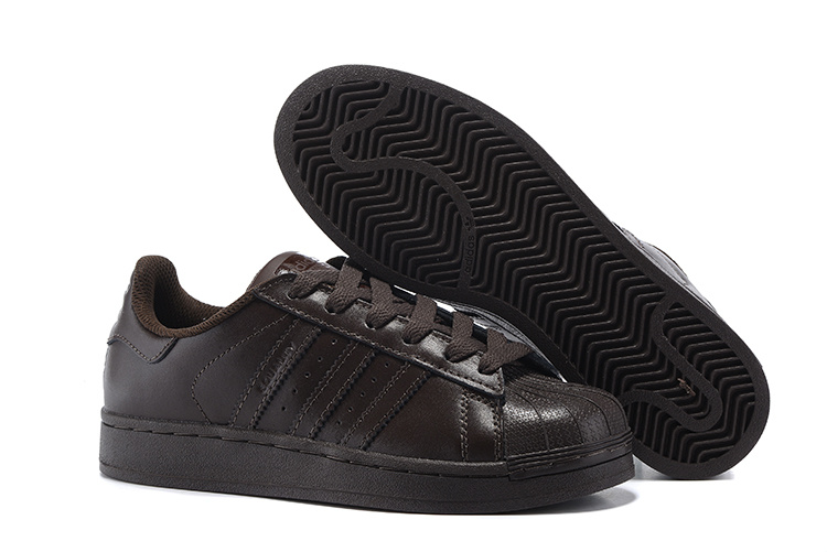 Men's/Women's Adidas Originals Superstar Supercolor PHARRELL WILLIAMS Shoes Brown S41826
