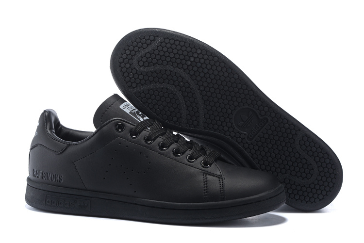 Men's/Women's Adidas Originals Stan Smith Shoes Black G34069