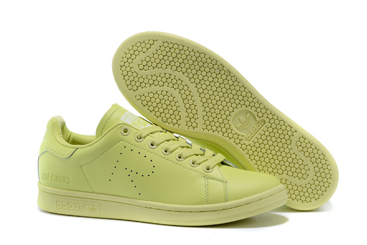 Men\'s/Women\'s Adidas Originals Stan Smith Shoes Green G34063