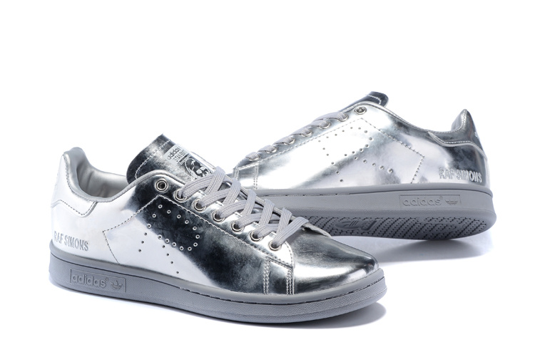 Men\'s/Women\'s Adidas Originals Stan Smith Shoes Silver G34065