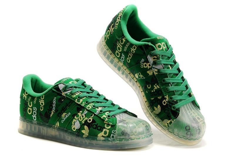 super popular c0435 e40a8 ... Men  s Women  s Adidas Originals Superstar CLR Shoes Green 027902 ...