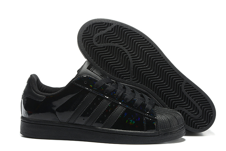 2016 Men's/Women's Adidas Originals Superstar Shoes Black B35436