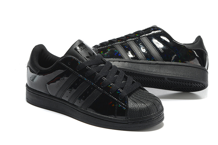 2016 Men\'s/Women\'s Adidas Originals Superstar Shoes Black B35436