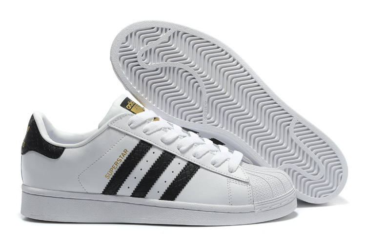 2016 Men's/Women's Adidas Originals Superstar East River Rival Shoes Black-White B34308
