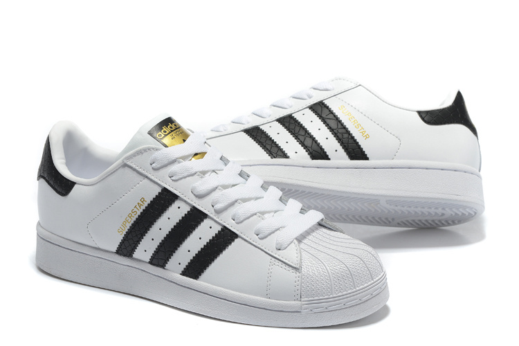2016 Men\'s/Women\'s Adidas Originals Superstar East River Rival Shoes Black-White B34308