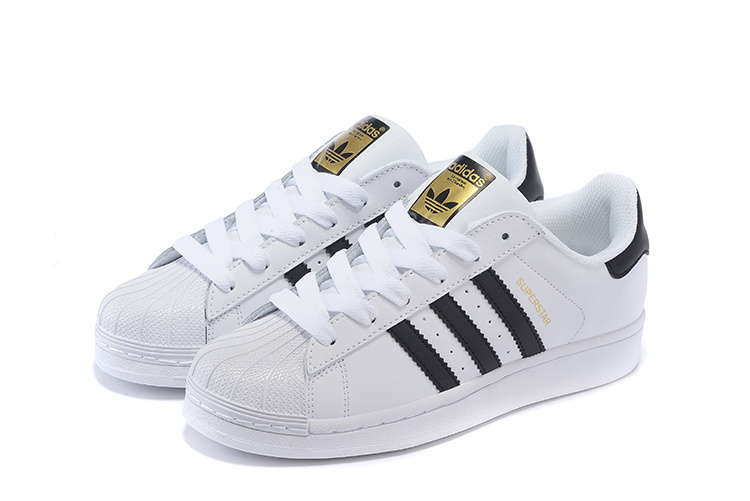 2016 Men\'s/Women\'s Adidas Originals Superstar Shoes White/Black C77124