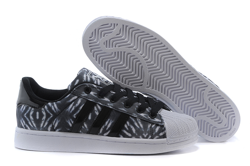 Men's/Women's Adidas Originals Superstar II Casual Shoes Black/White C75313