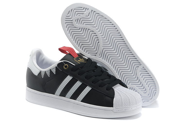 Men\'s/Women\'s Adidas Originals SS STD LUX Superstar Casual Shoes Black White G28352
