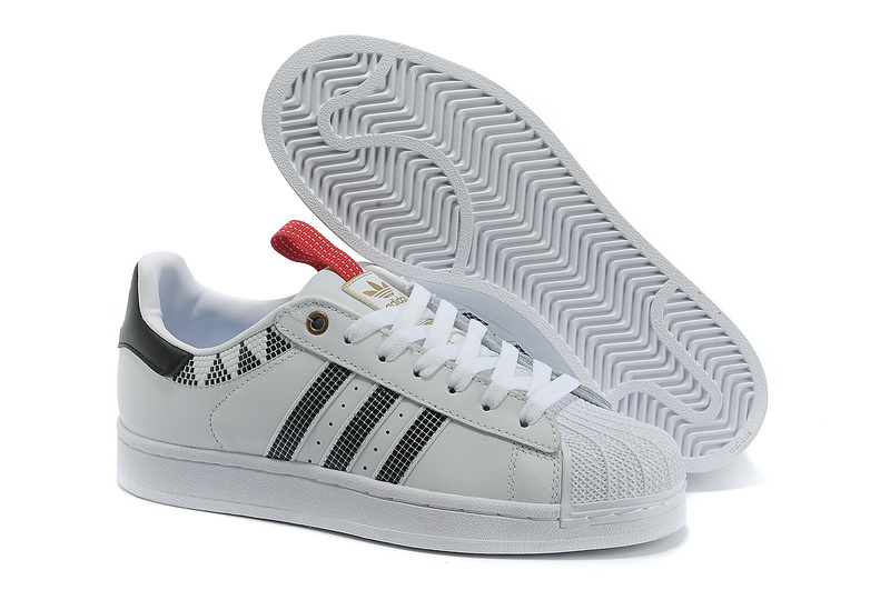 Men's/Women's Adidas Originals SS STD LUX Superstar Casual Shoes WHITE BLACK G28353