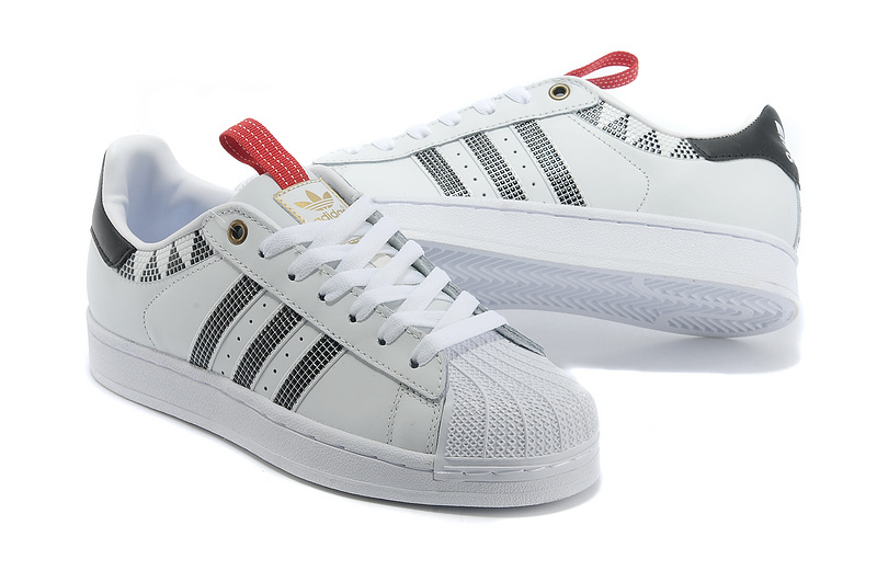 Men\'s/Women\'s Adidas Originals SS STD LUX Superstar Casual Shoes WHITE BLACK G28353