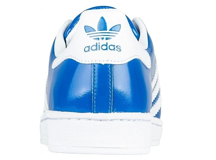 Men\'s/Women\'s Adidas Originals Classic Superstar 2 Casual Shoes BLUE WHITE D65603
