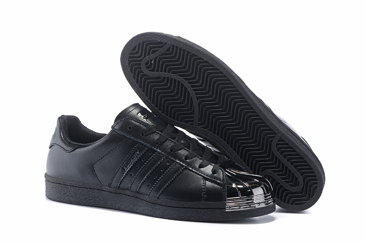 Men's/Women's Adidas Originals Superstar Pharrell Williams x Supercolor Pack Shoes Black / Metallic S41899