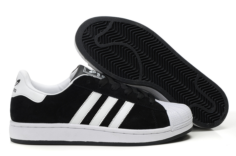 Men's/Women's Adidas Originals Superstar 2 Casual Shoes Black/White G50965